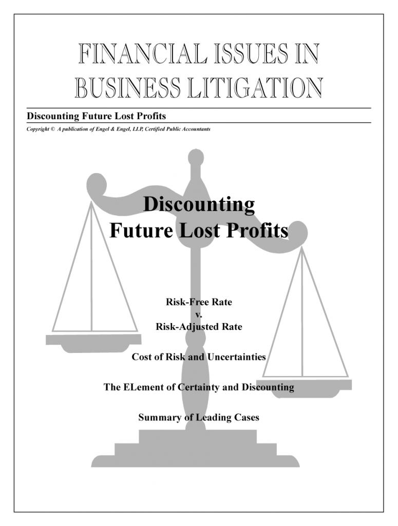 Discounting Future Lost Profits